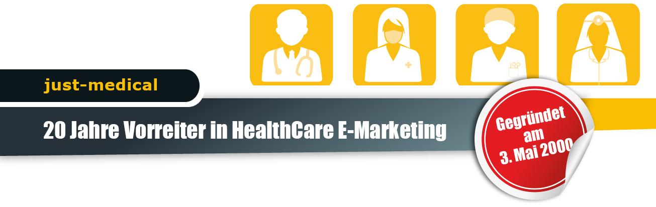 20 Jahre Vorreiter in HealthCare E-Marketing