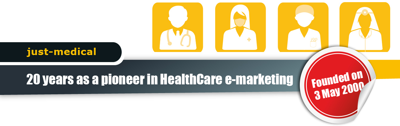 20 years as a pioneer in HealthCare e-marketing