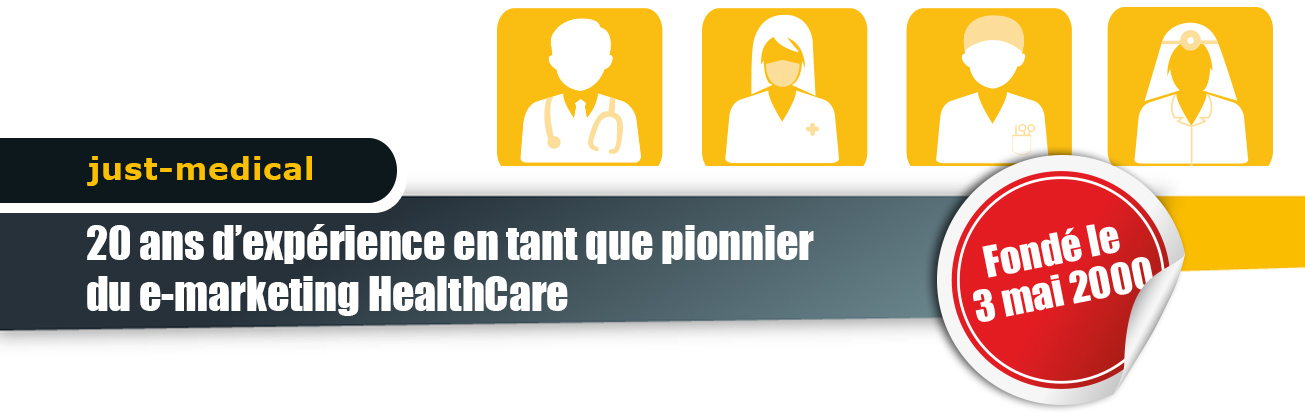 20 ans d'expérience en tant que pionnier du e-marketing HealthCare